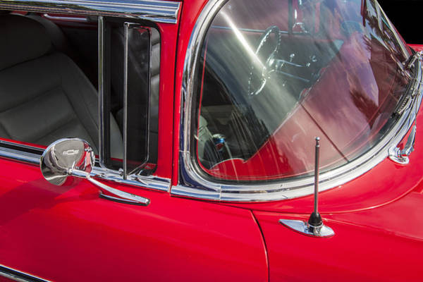Photograph - 1957 Chevy Bel Air Chrome by Rich Franco