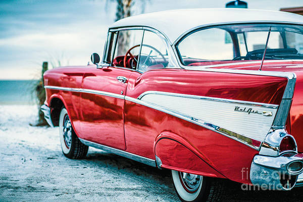 Wall Art - Photograph - 1957 Chevy Bel Air by Edward Fielding