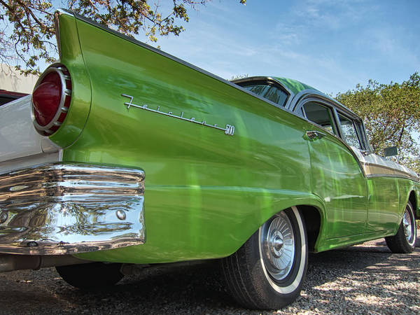 Photograph - 1957 Ford Fairlane 500 by Mary Lee Dereske