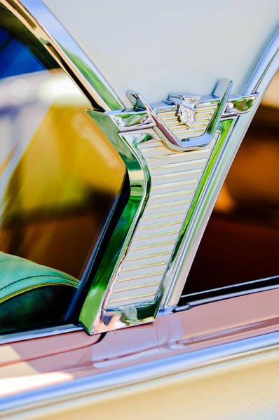 Monterey Photograph - 1957 Mercury Monterey Sedan -1030c by Jill Reger