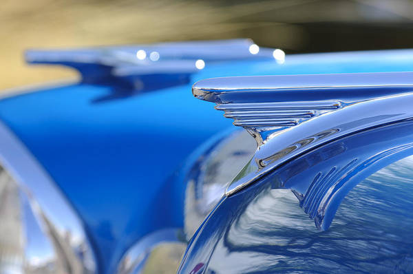 Vintage Hood Ornaments Photograph - 1957 Oldsmobile Hood Ornament 3 by Jill Reger