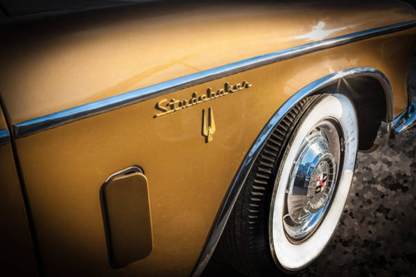 Photograph - 1957 Studebaker Golden Hawk     by Rich Franco