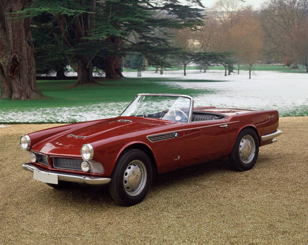 Motoring Photograph - 1958 Bmw 507 Vignale 3.2 Litre V8 by Panoramic Images