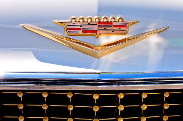 Eldorado Photograph - 1958 Cadillac Eldorado Biarritz Convertible Emblem by Jill Reger