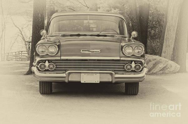 Photograph - 1958 Chevrolet  by Les Palenik