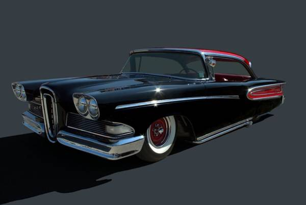 Photograph - 1958 Ford Edsel Custom Low Rider by Tim McCullough