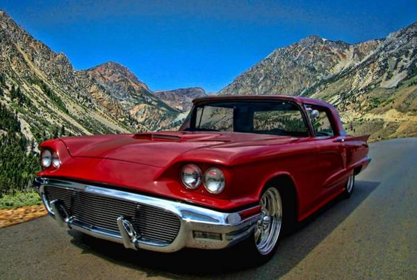 Photograph - 1958 Ford Thunderbird by Tim McCullough