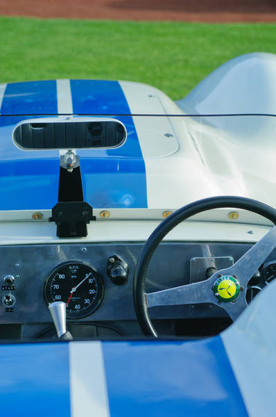 Photograph - 1958 Lister Jaguar Knobbly by Jill Reger