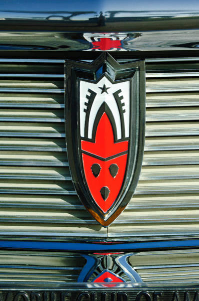 Photograph - 1958 Oldsmobile Emblem by Jill Reger