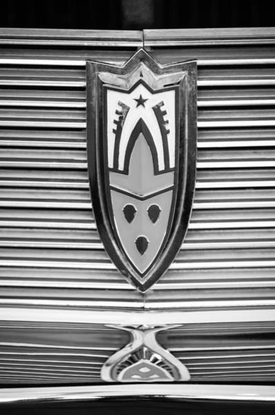 Photograph - 1958 Oldsmobile Super 88 4 Door Sedan -1654bw by Jill Reger