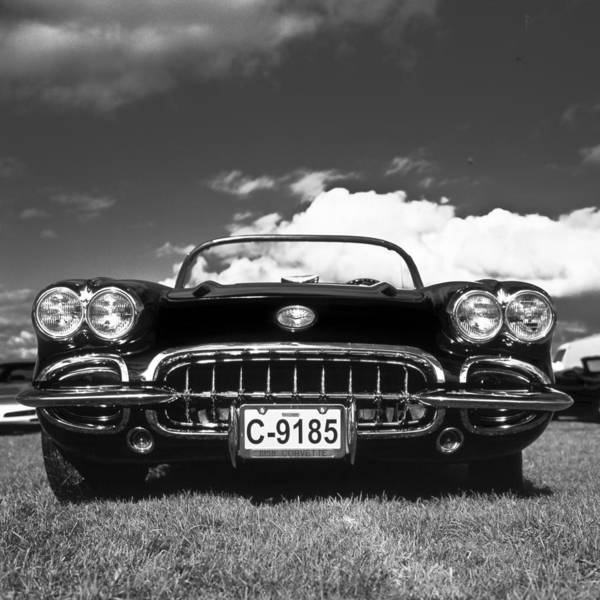 Classic Hot Rod Wall Art - Photograph - 1958 Vintage Chevrolet Corvette  by Gianfranco Weiss