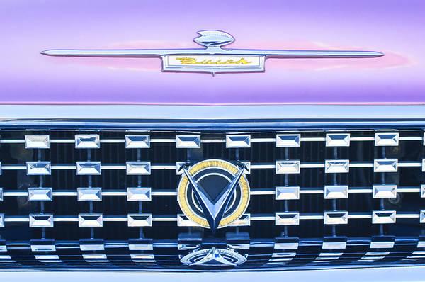 Photograph - 1959 Buick Lesabre Hood Emblem by Jill Reger