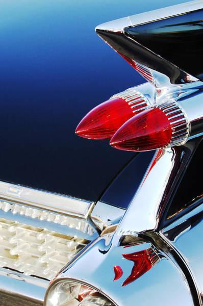 Eldorado Photograph - 1959 Cadillac Eldorado Taillight -075c by Jill Reger