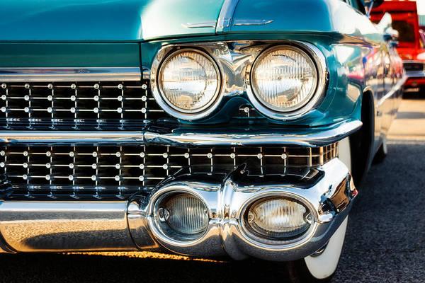 Cadillac Photograph - 1959 Cadillac Sedan Deville Series 62 Grill by Jon Woodhams