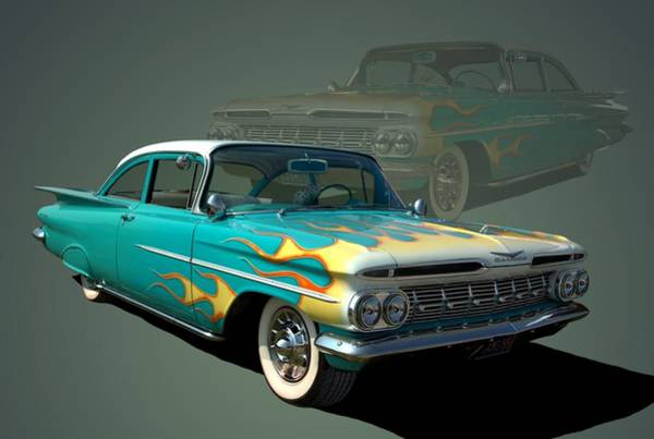 Photograph - 1959 Chevrolet by Tim McCullough