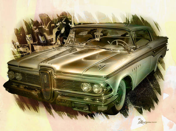 Photograph - 1959 Edsel by Ericamaxine Price