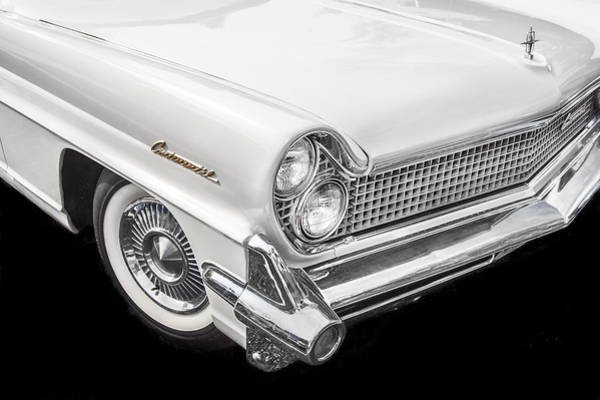 Mark Iv Wall Art - Photograph - 1959 Lincoln Continental Chrome by Rich Franco