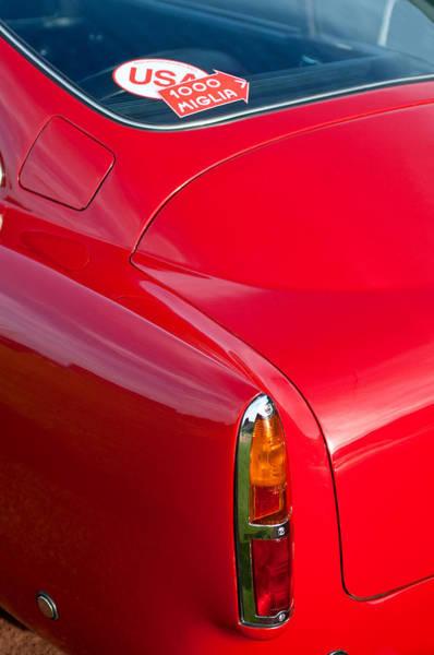Photograph - 1960 Aston Martin Db4 Taillight by Jill Reger