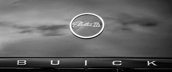 Photograph - 1960 Buick Electra Convertible Emblem by Jill Reger