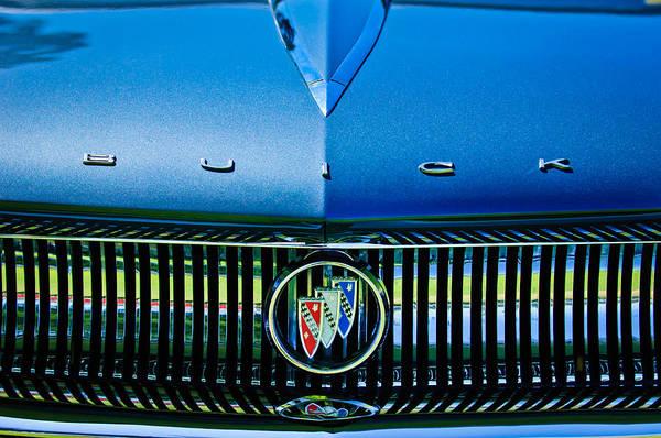 Photograph - 1960 Buick Lesabre Convertible Grille Emblem - 3038c by Jill Reger
