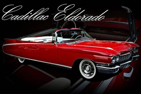 Photograph - 1960 Cadillac Convertible El Dorado  by Tim McCullough