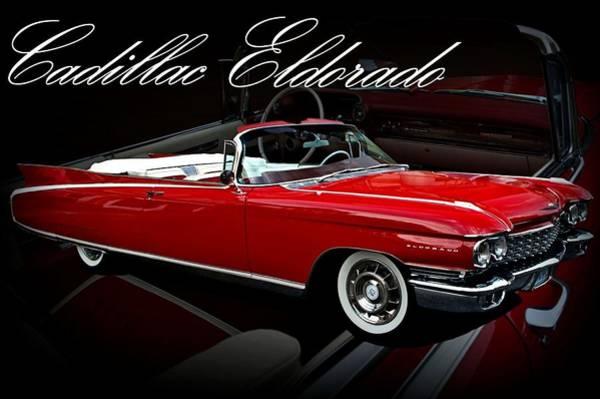 1960 Cadillac Convertible El Dorado  Art Print