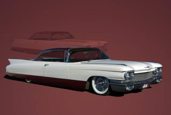 Photograph - 1960 Cadillac Coupe Deville Low Rider by Tim McCullough