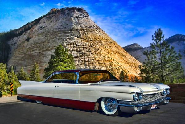 Photograph - 1960 Cadillac Coupe Deville by Tim McCullough