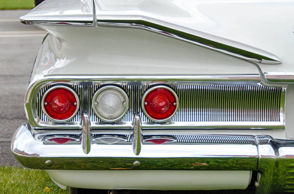 Photograph - 1960 Chevy Impala   7d08518 by Guy Whiteley