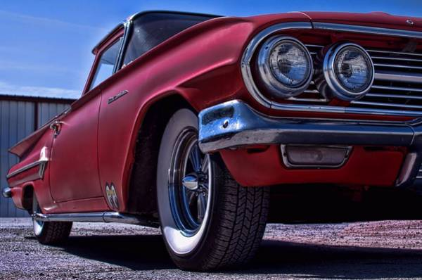 Photograph - 1960 El Camino Pickup Truck by Tim McCullough