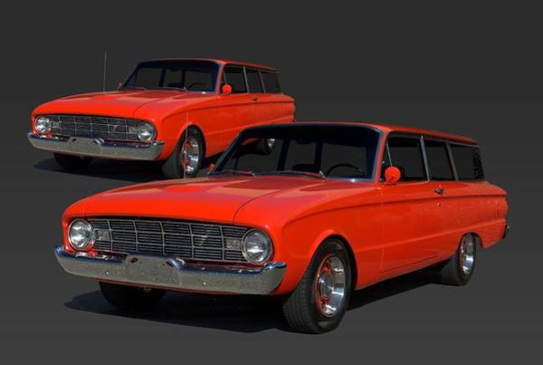 Photograph - 1960 Ford Falcon Station Wagon by Tim McCullough
