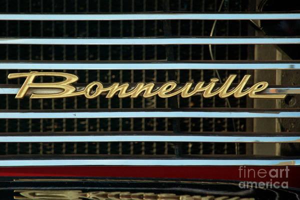 Photograph - 1960 Pontiac Belvedere Logo by Mark Dodd