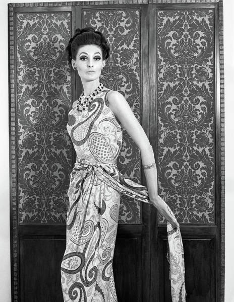 Dressing Photograph - 1960 Portrait Of A Woman Posing by Vintage Images