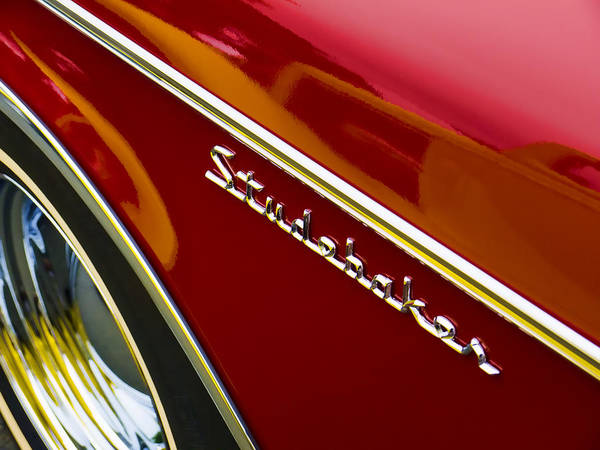 60s Wall Art - Photograph - 1960 Studebaker Hawk by Carol Leigh