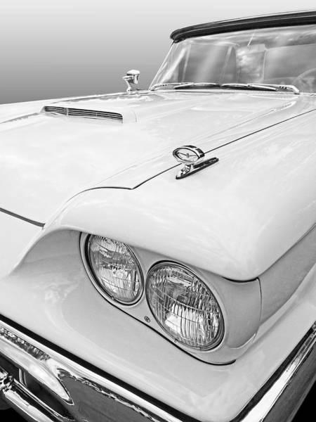 Photograph - 1960 T-bird Detail by Gill Billington