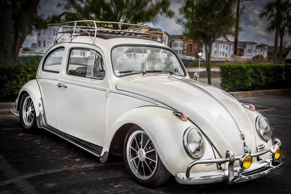 Photograph - 1960 Volkswagen Beetle Vw Bug    by Rich Franco