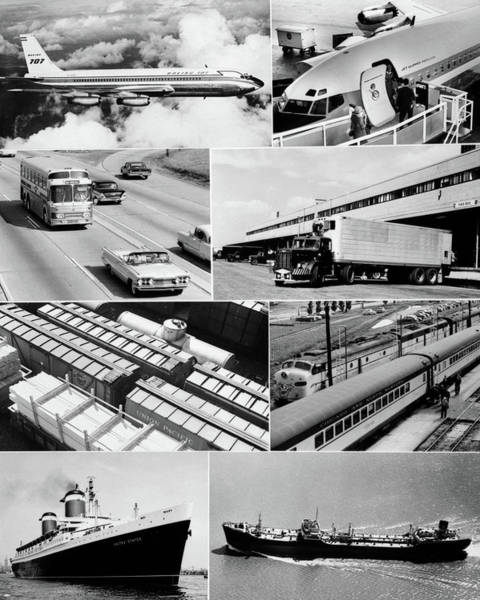 Trailer Photograph - 1960s Montage Of Various Forms by Vintage Images