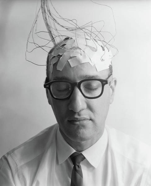 Plug-in Photograph - 1960s Portrait Of Man Character by Vintage Images