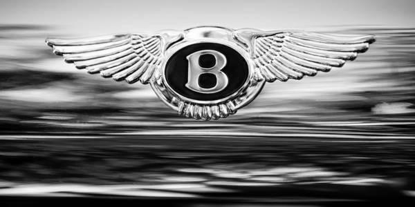 Photograph - 1961 Bentley S2 Continental - Flying Spur ' Emblem by Jill Reger