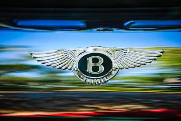 Photograph - 1961 Bentley S2 Continental - Flying Spur - Emblem by Jill Reger