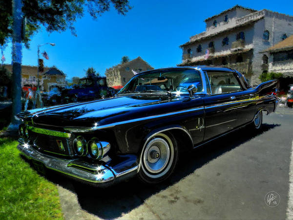 Photograph - 1961 Chrysler Imperial 001 by Lance Vaughn