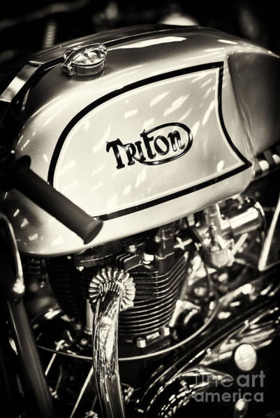 Photograph - 1962 650cc Triton Cafe Racer by Tim Gainey