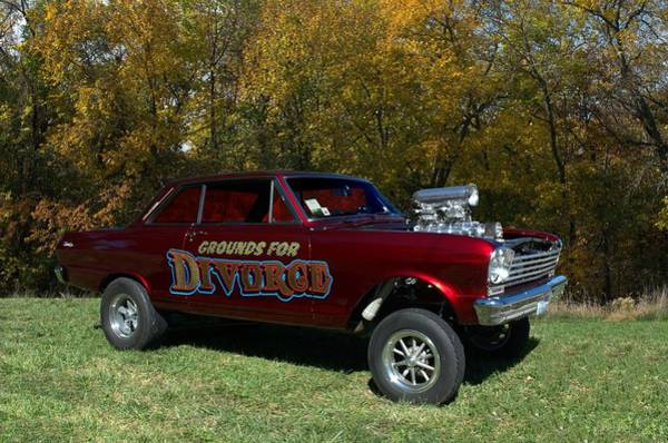 Photograph - 1962 Chevy II Gasser Dragster  by Tim McCullough