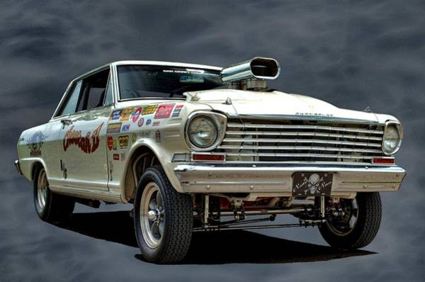 Photograph - 1962 Chevy II Pro Street Dragster by Tim McCullough