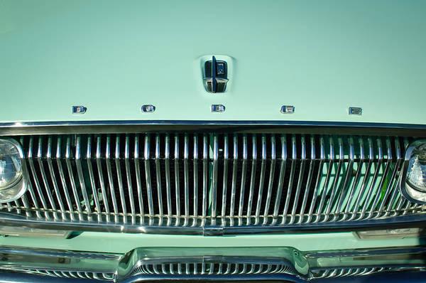 Photograph - 1962 Dodge Dart Grille Emblem by Jill Reger