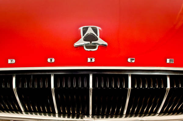 Photograph - 1962 Dodge Polara 500 Emblem by Jill Reger