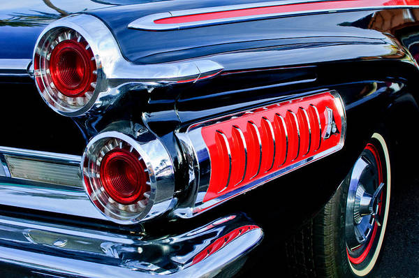 Photograph - 1962 Dodge Polara 500 Taillights by Jill Reger