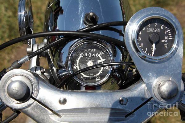 Photograph - 1962 Ducati Daytona 250 Motorcycle 5d23262 by Wingsdomain Art and Photography