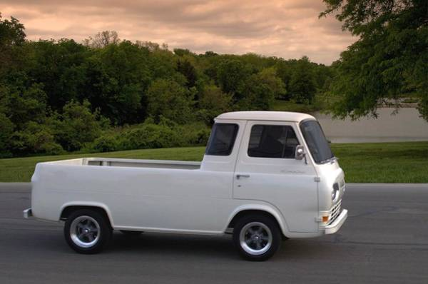 Photograph - 1962 Ford Econoline Pickup Truck by Tim McCullough