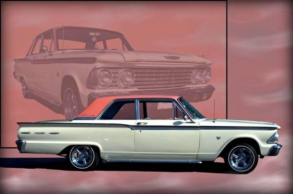 Photograph - 1962 Ford Fairlane 2 Door Sports Coupe by Tim McCullough